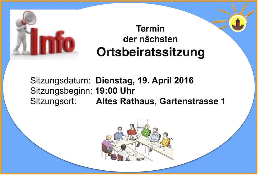 Info OBR Sitzung